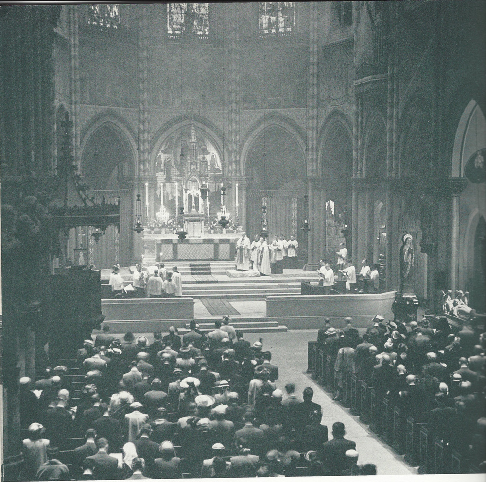 Easter at Saint Mary's in the early 1950s