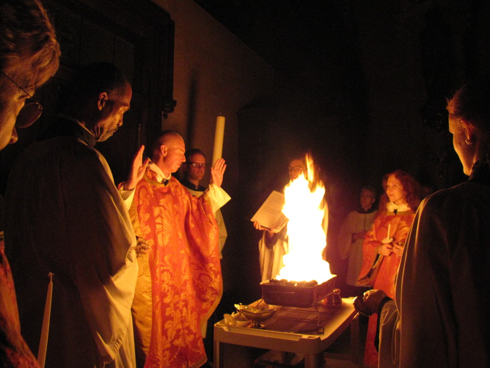 The Easter Vigil at Saint Mary's