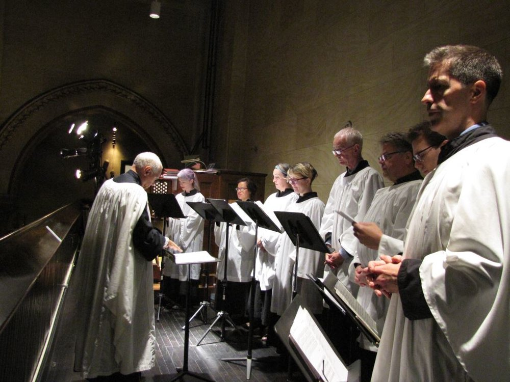 The Choir, directed by Dr. David Hurd, returns to Saint Mary's.