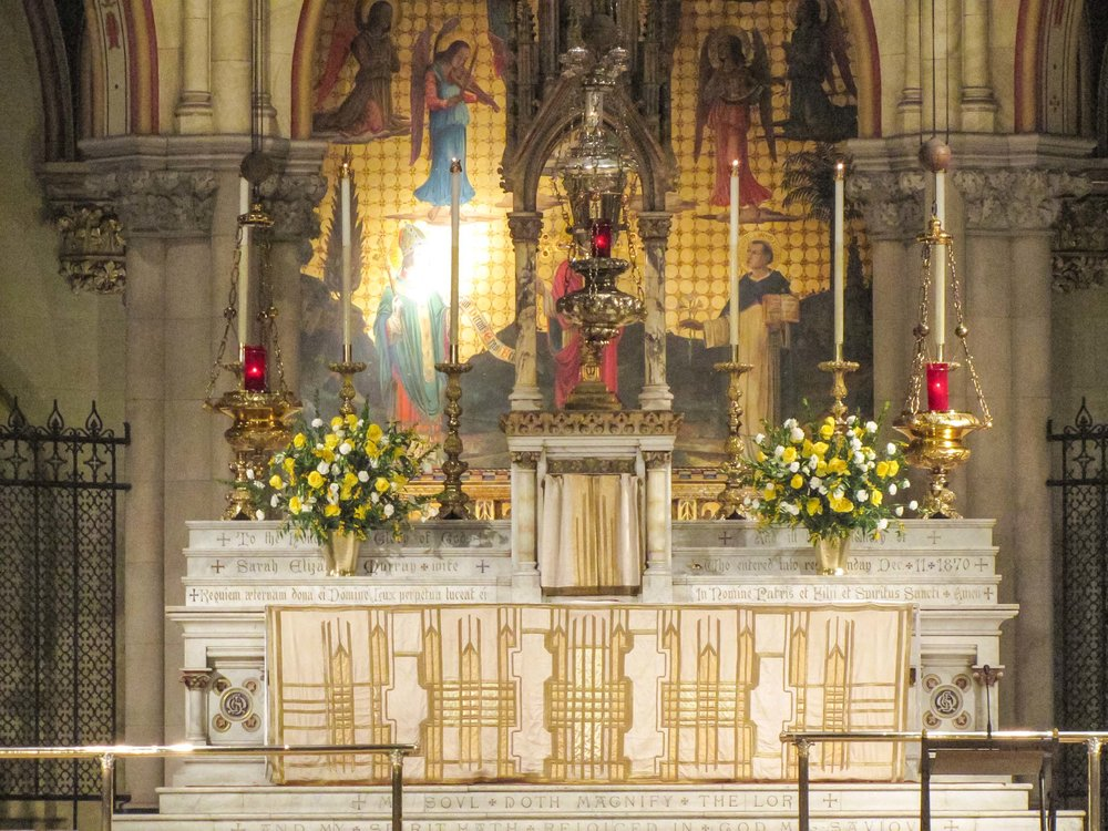 The High Altar Christ the King Sunday