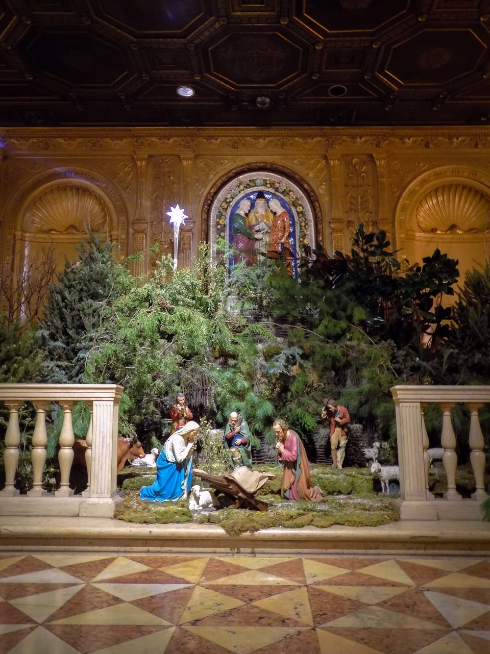 The Crèche in Saint Joseph's Chapel