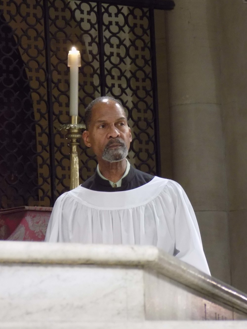 Charles Carson was MC for the Solemn Mass on the Fourth Sunday of Advent