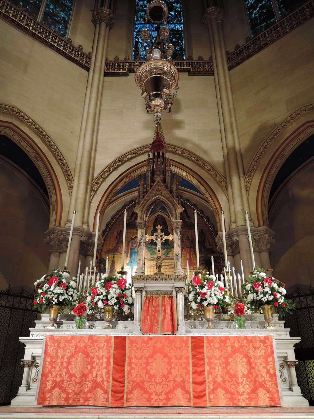 The High Altar on Christmas Eve