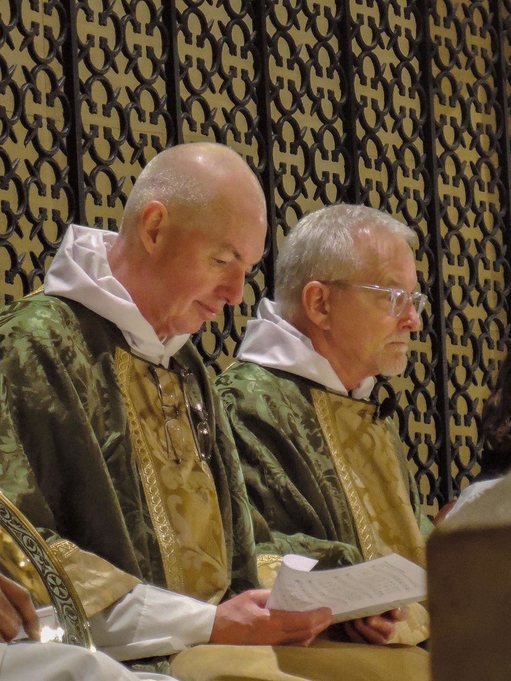 Father Pace was celebrant and preacher for the Solemn Mass on January 15.