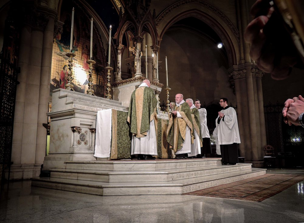 Father Smith was also celebrant and preacher for the 11:00 AM Solemn Mass.