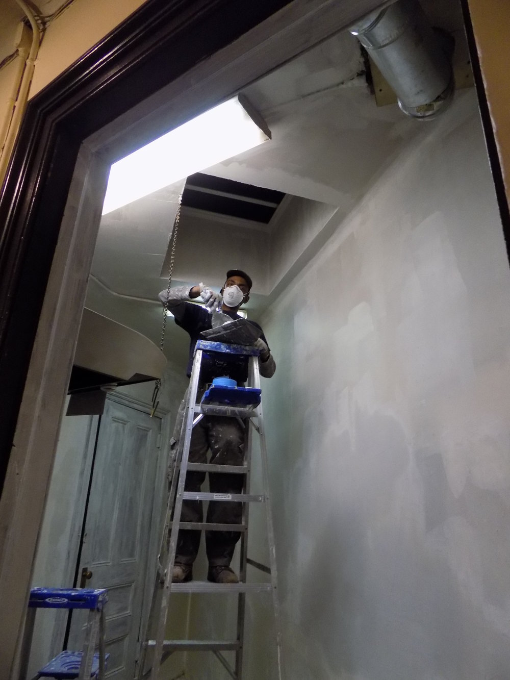 The renovation of the Smoke Room has begun. The Rector is hopeful that it will be in use    on Sunday, March 19.