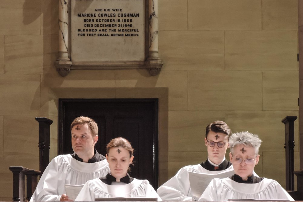 Servers at the Solemn Mass