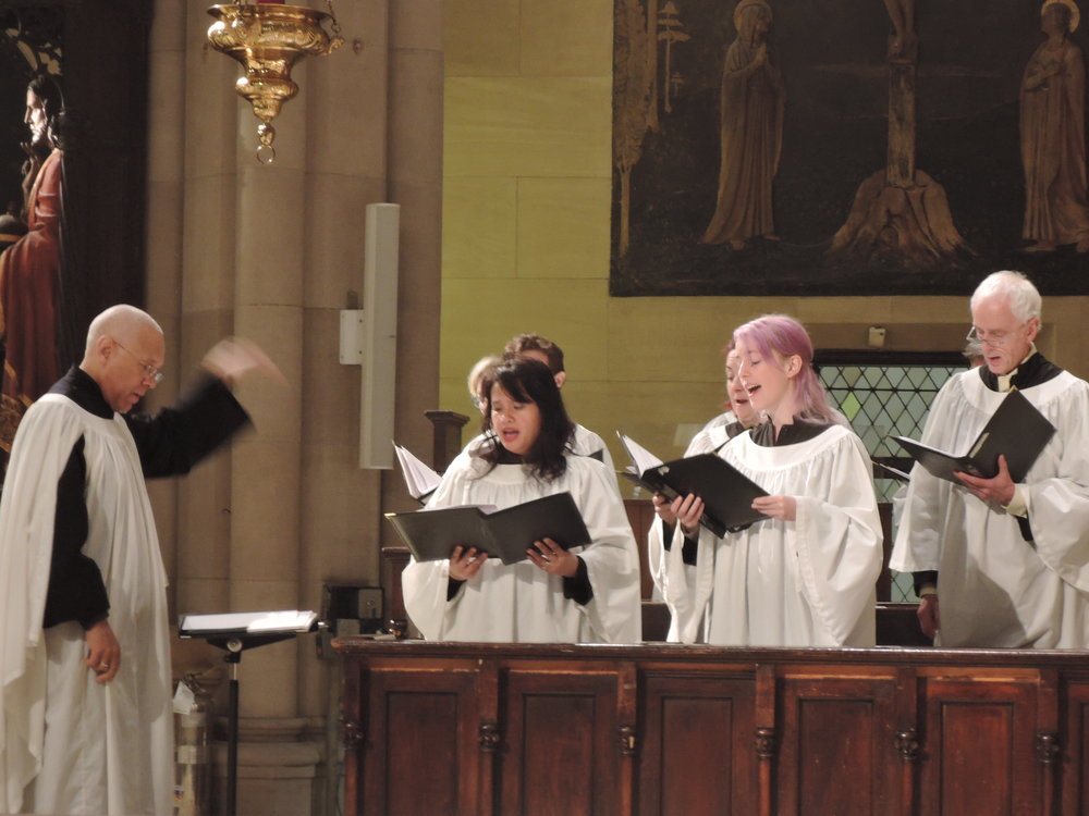 At the Solemn Mass