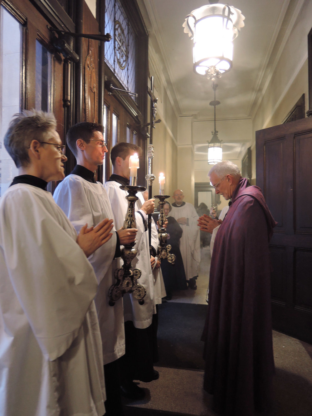 A Final Prayer after Evensong.