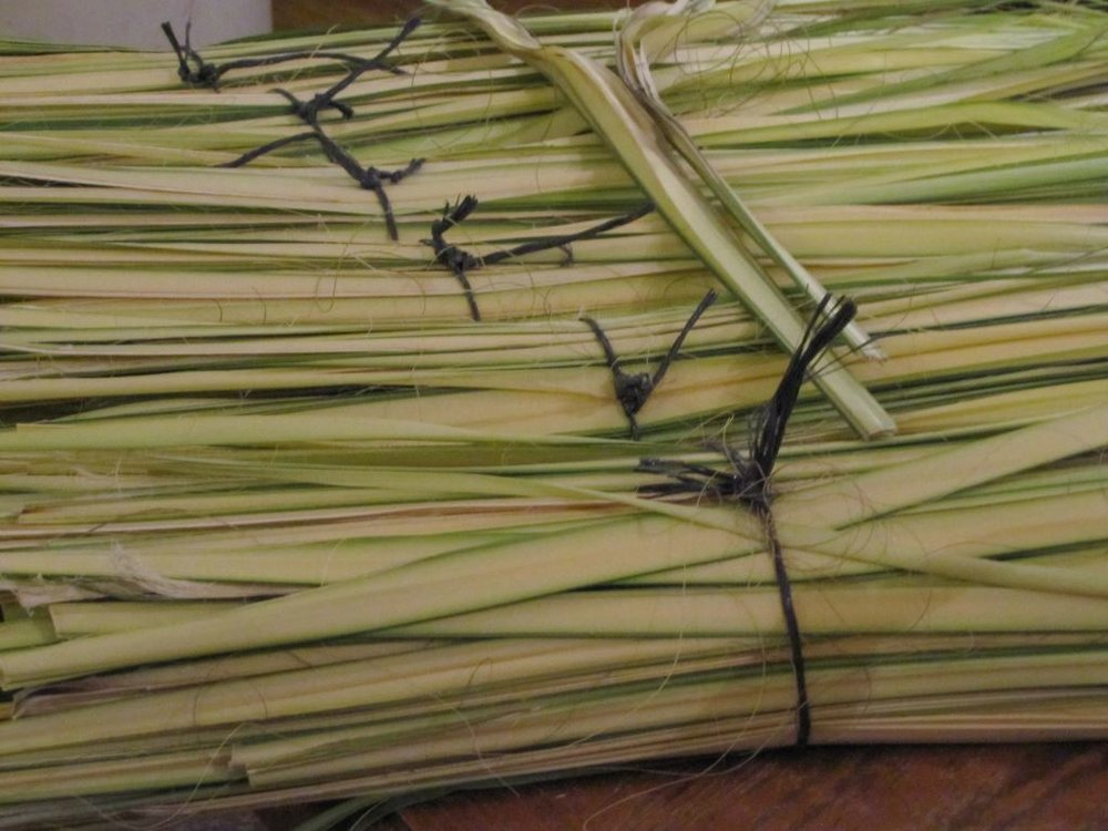 Preparations for Palm Sunday