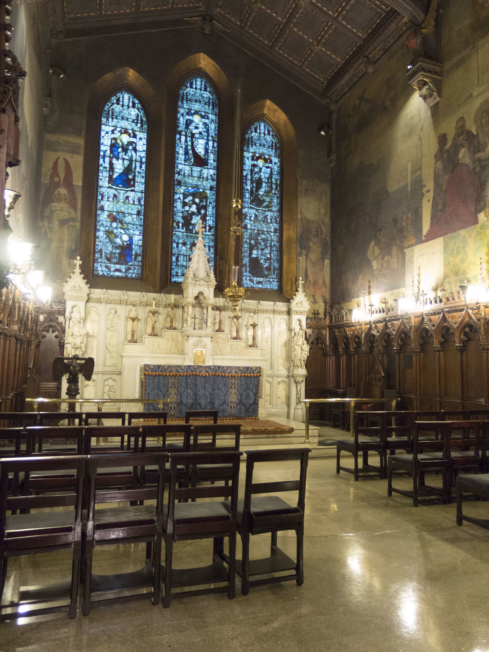 The Lady Chapel at Saint Mary's