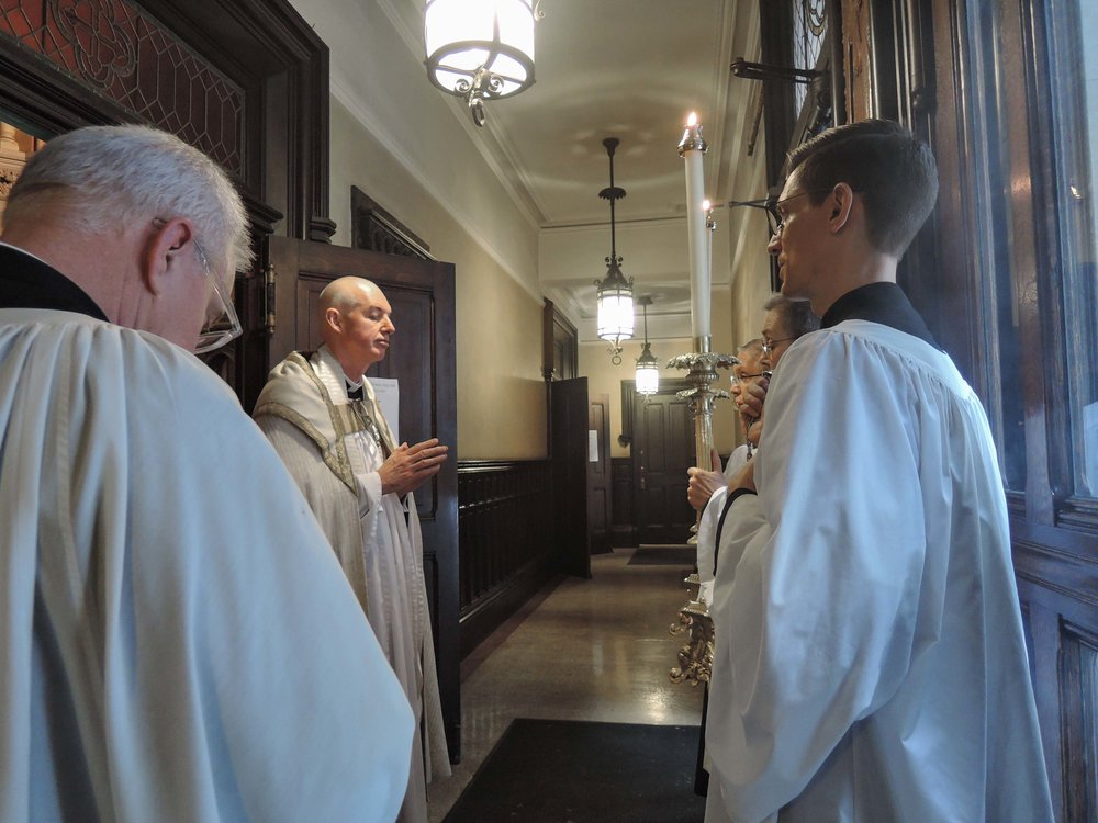 After Benediction on Sunday, May 14