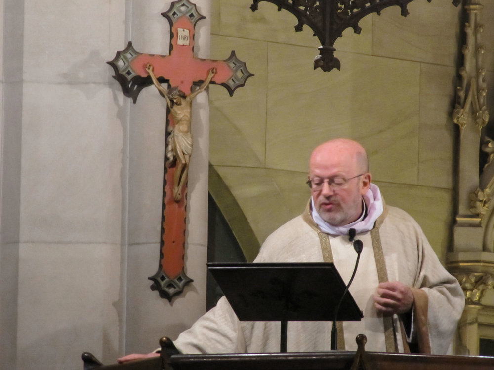 Father Smith was celebrant and preacher for the Solemn Mass on Sunday, May 21.