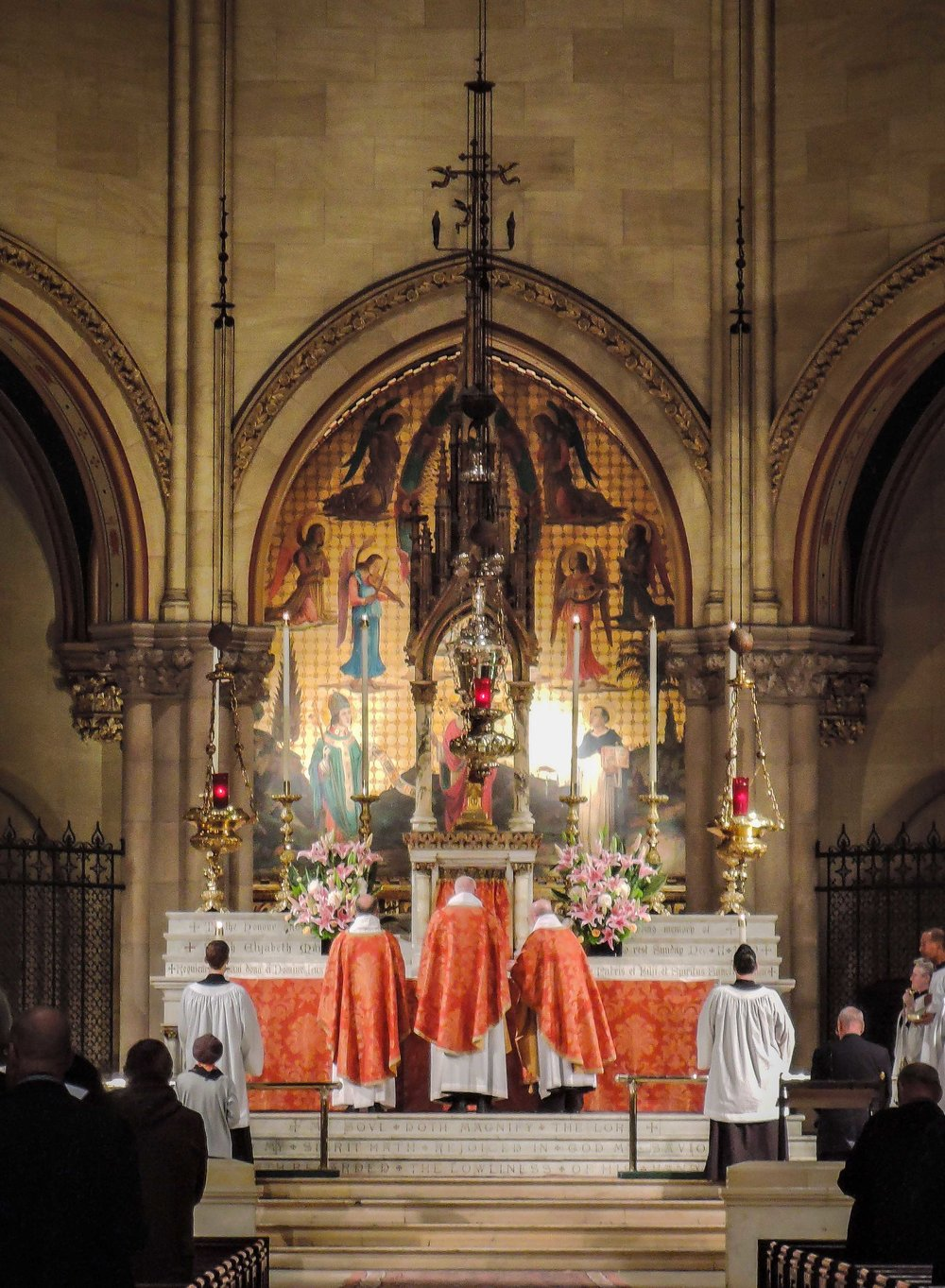 Solemn Mass on Ascension Day at Saint Mary's