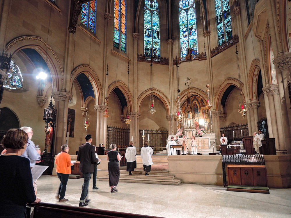 Solemn Mass on Sunday, May 28