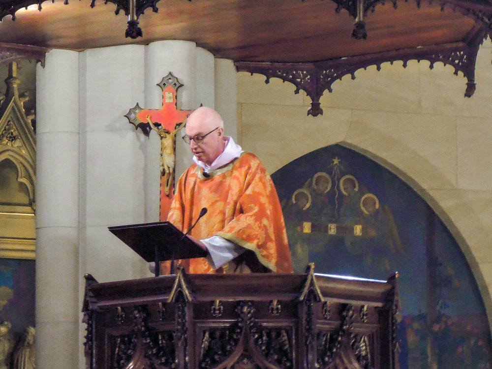 The Rector was celebrant and preacher for the Solemn Mass on Pentecost.