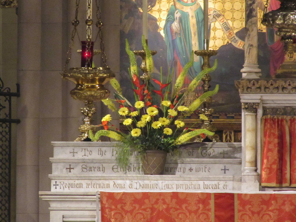 The Altar on Pentecost