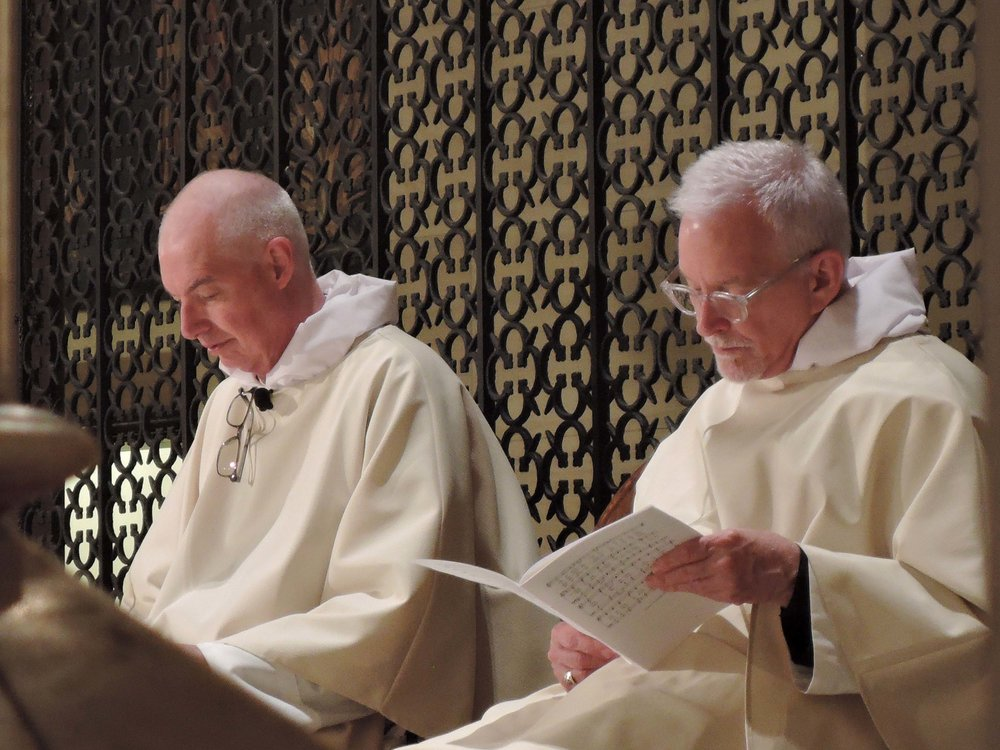 Father Gerth and Father Pace were concelebrants.