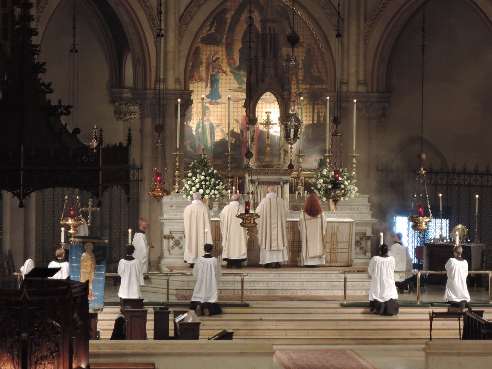 Solemn Mass, Corpus Christi, Sunday, June 18, 2017