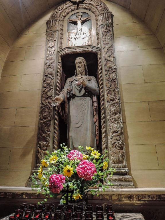 Sacred Heart Shrine Statue by Lee Lawrie
