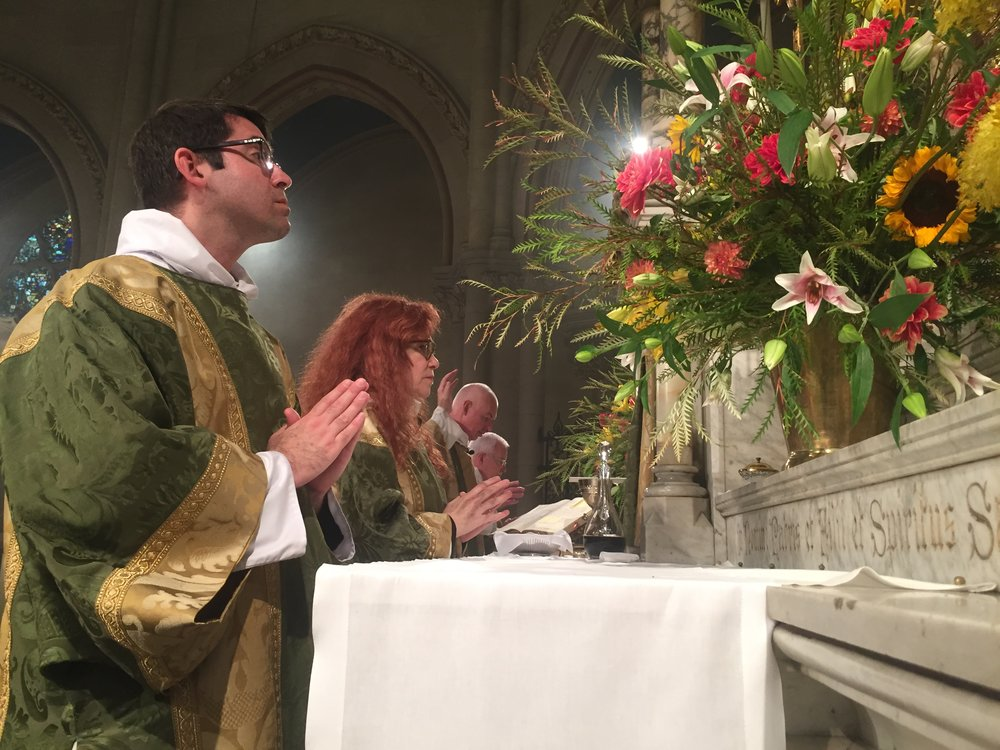At the High Altar: Solemn Mass on the       Eleventh Sunday after Pentecost