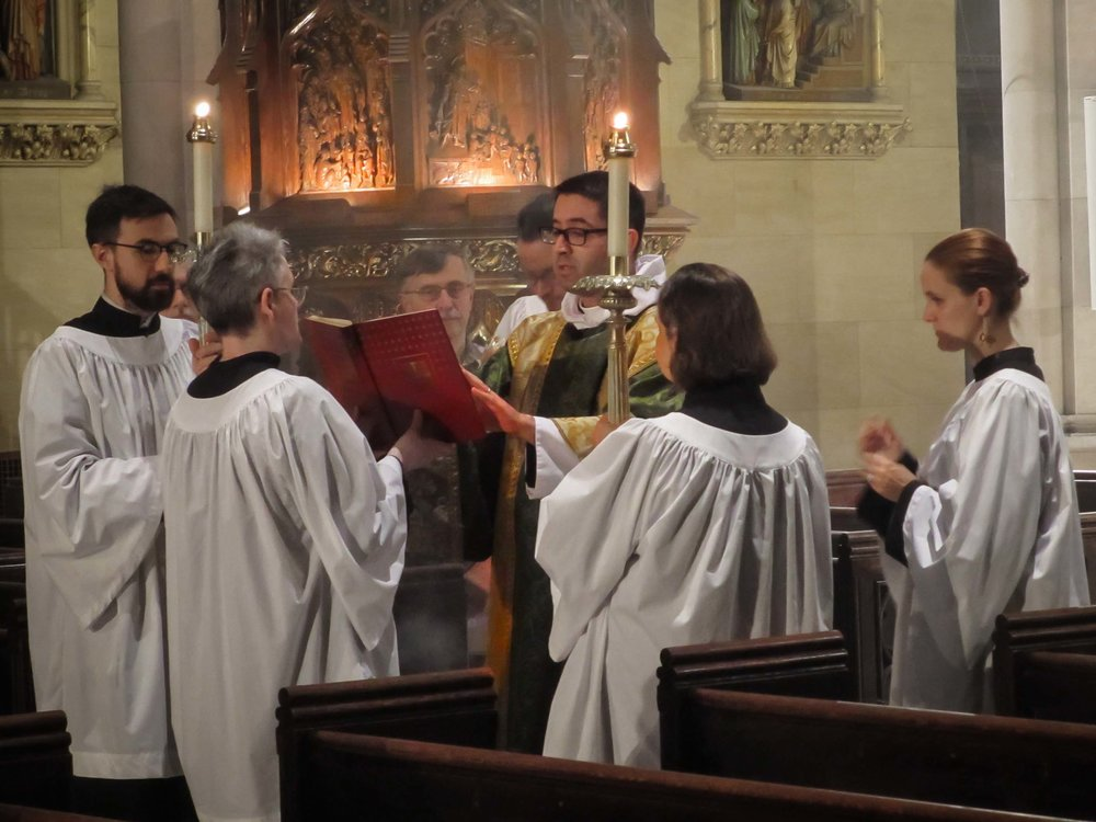 The Proclamation of the Gospel at Solemn Mass