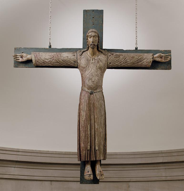 Crucifix, North Italian, ca. 1200-1220     The Metropolitan Museum of Art, New York City