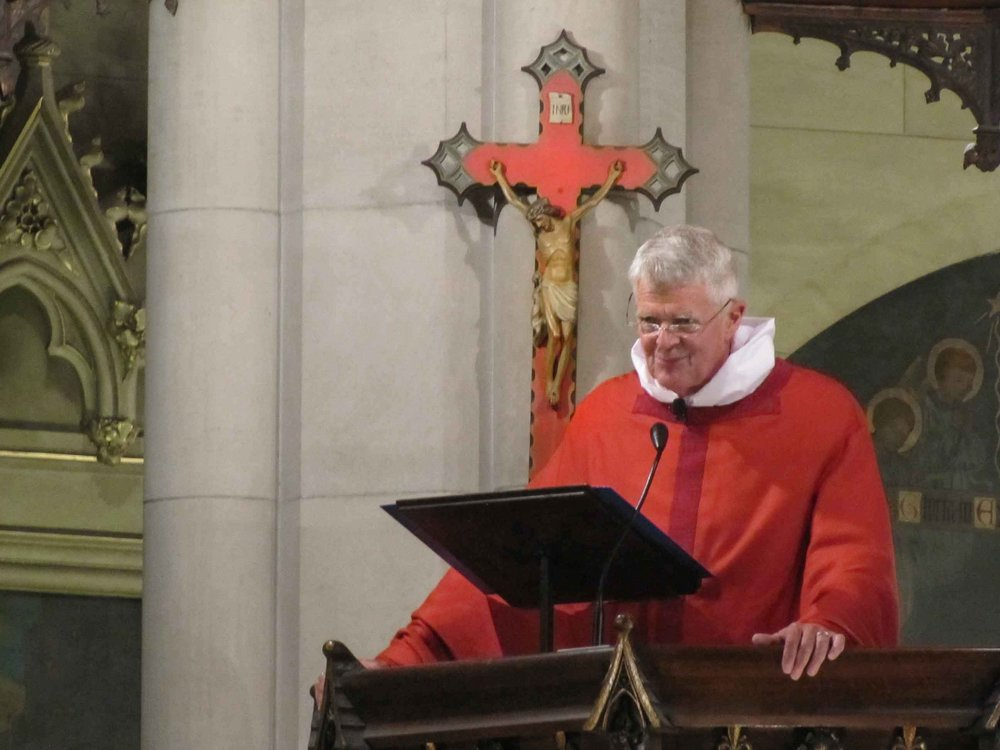 The Most Reverend Frank T. Griswold was celebrant and preacher for the Sung Mass on Holy Cross Day.