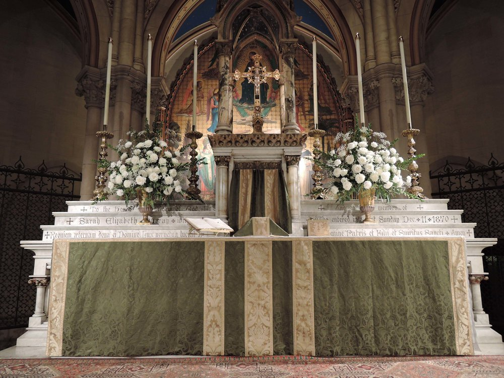 The High Altar, Sunday, October 1, 2017