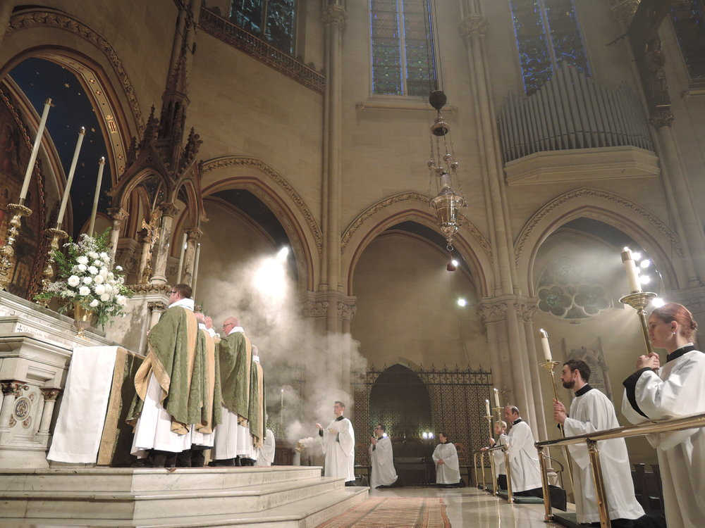 Sunday 11AM Solemn Mass at Saint Mary's