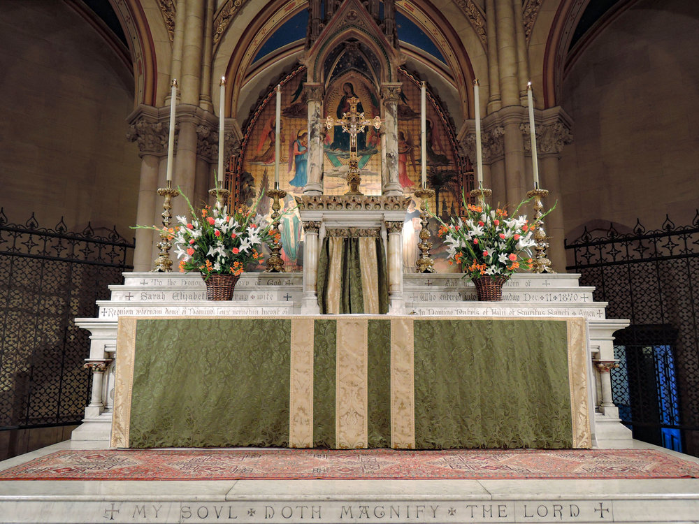 The High Altar, Sunday, October 22, 2017