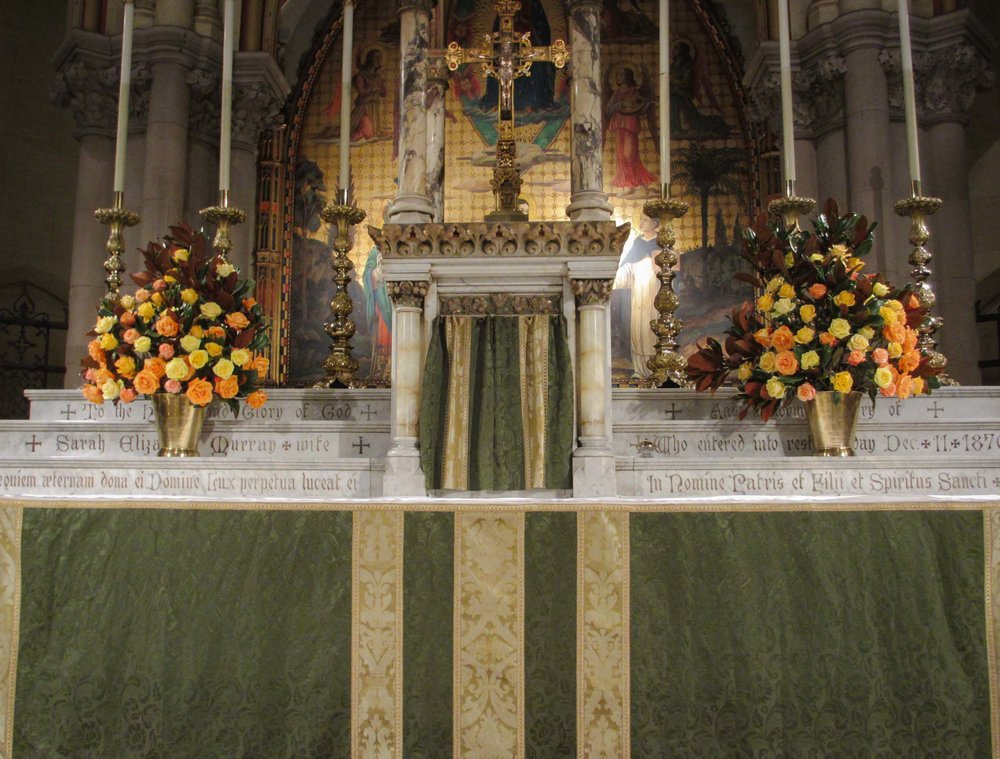 The High Altar, Sunday, November 5, 2017