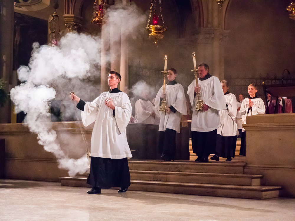 Solemn Mass on December 10  Photo by  Ricardo Gomez