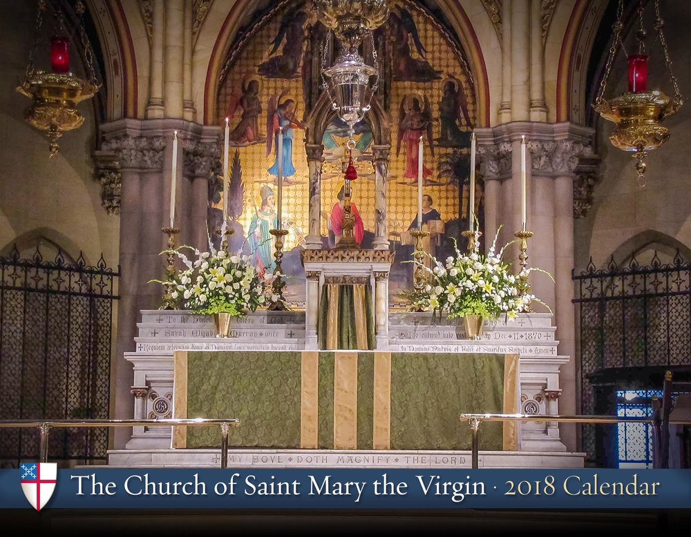 The Saint Mary's Calendar