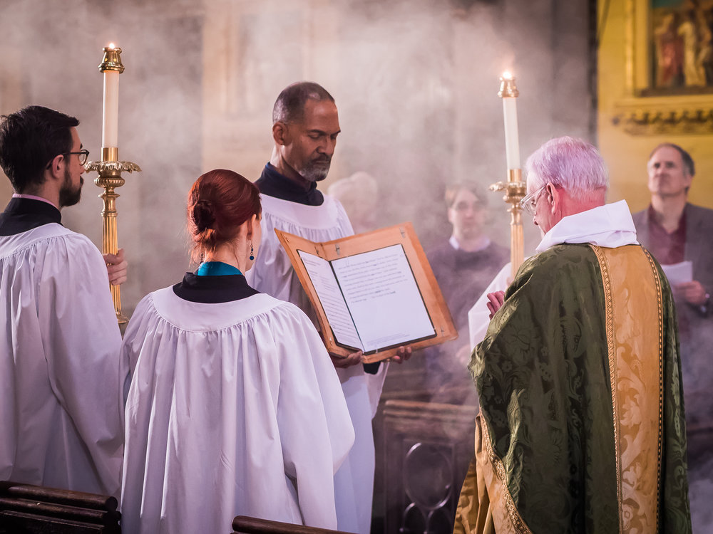 The Proclamation of the Gospel on the Last Sunday after the Epiphany  Photo by Ricardo Gomez