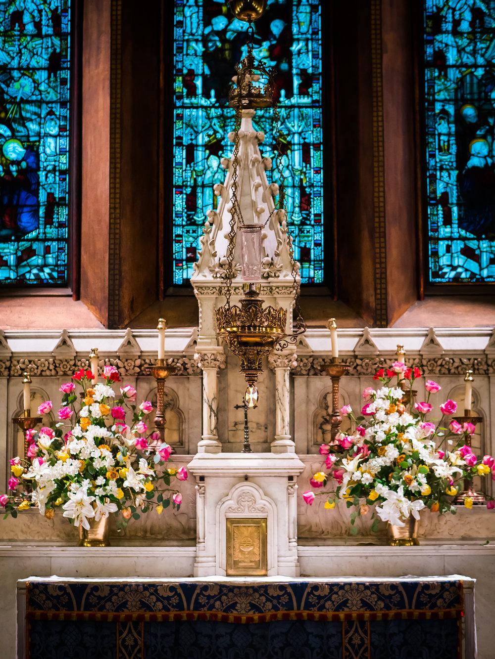 The Lady Chapel Altar  Photo by Ricardo Gomez