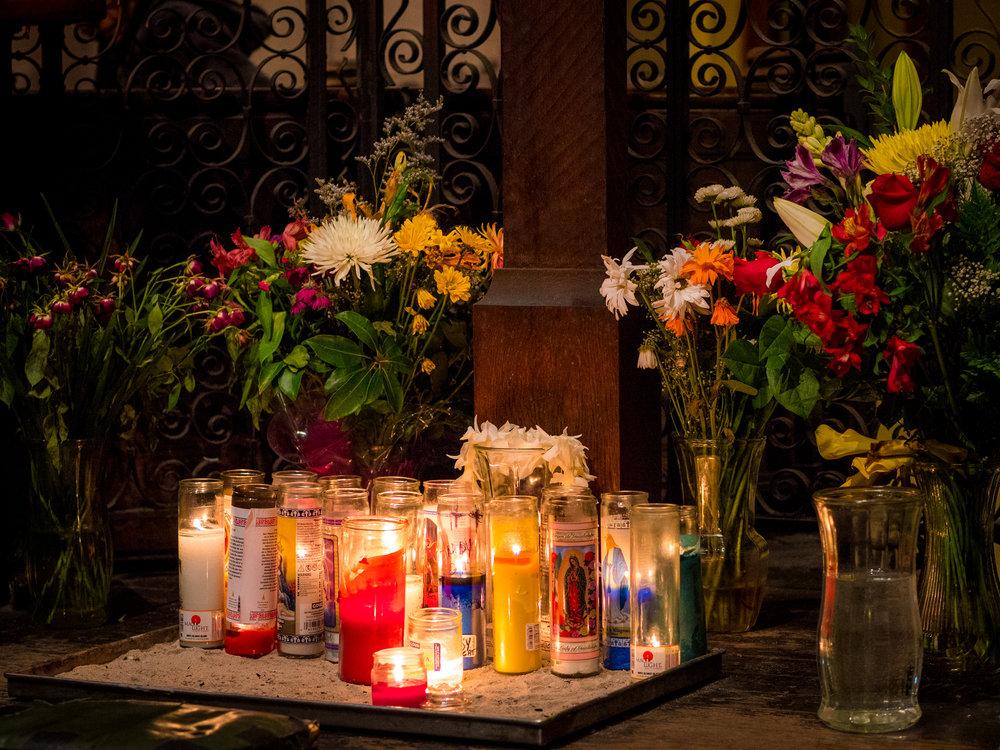 A place of prayer: The Calvary Shrine  Photo by Ricardo Gomez