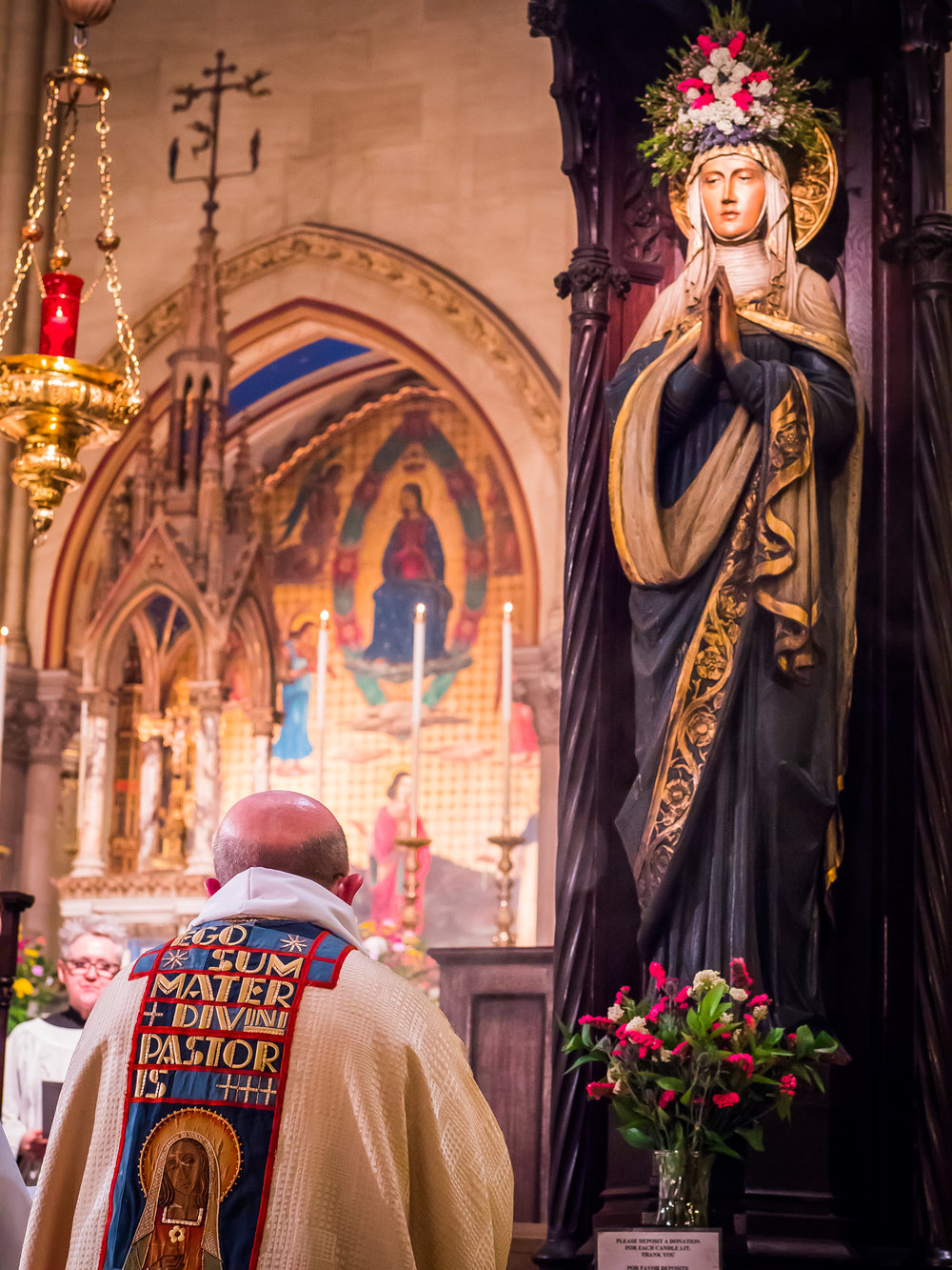 Stational Prayers on the first Sunday in May at the Shrine of Our Lady   Photo by Ricardo Gomez