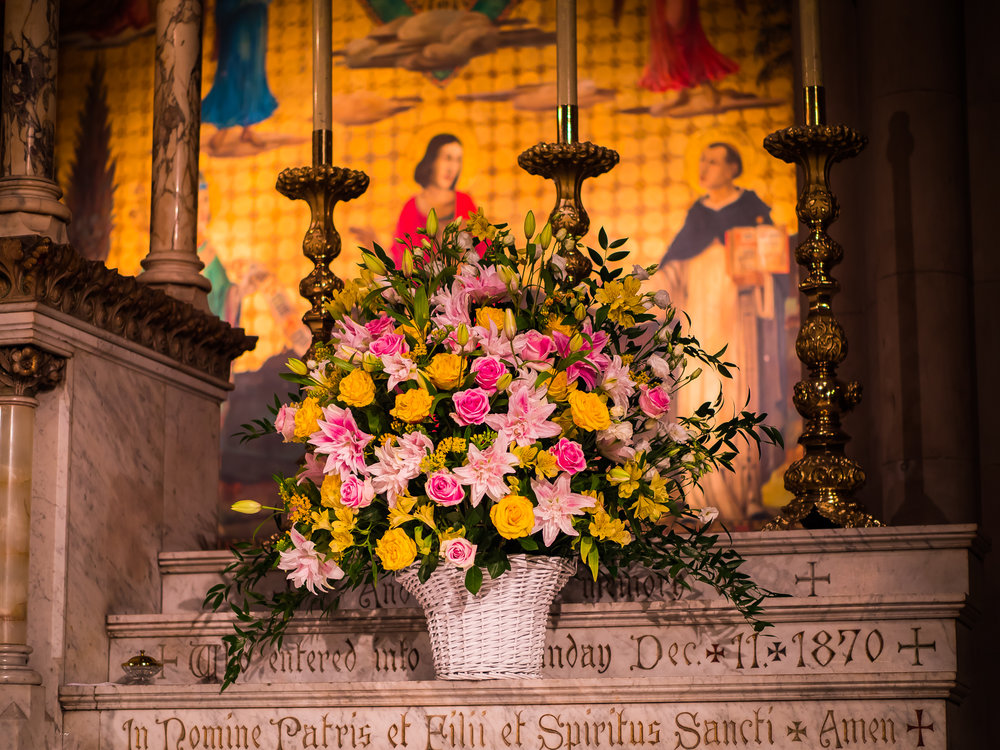 Flowers for Sunday, July 15, 2018.  Photo by Ricardo Gomez
