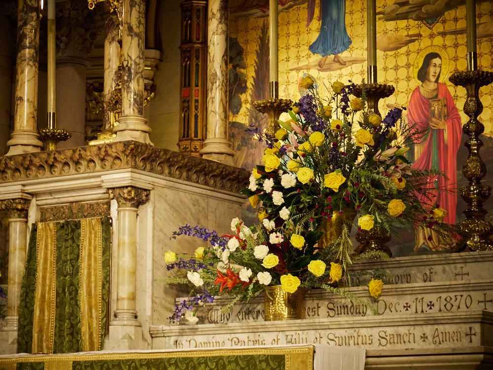 The High Altar on Sunday, September 16, 2018.    P hoto by Ricardo Gomez