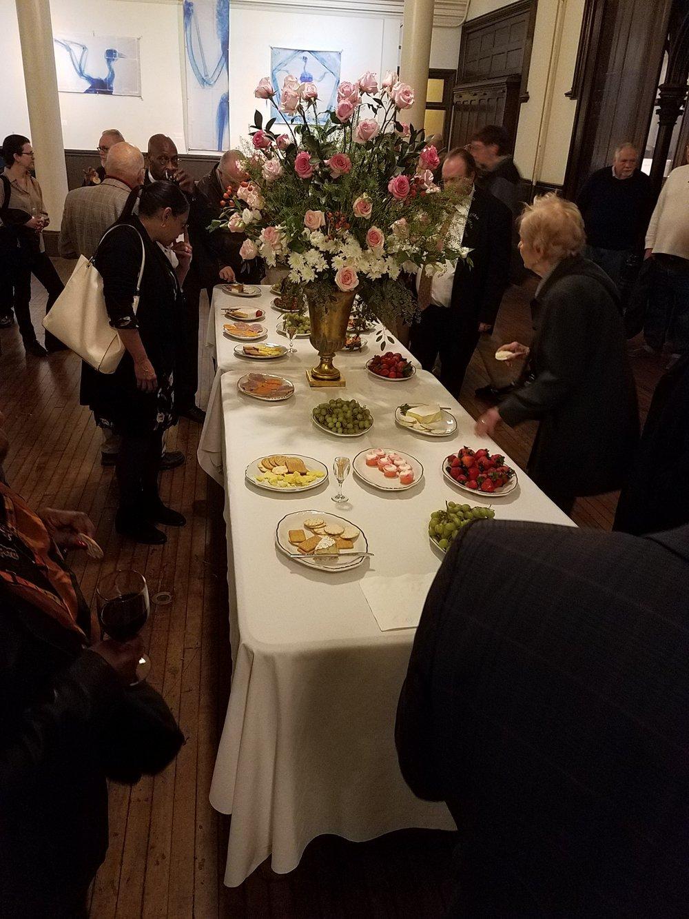 A reception followed in Saint Joseph's Hall.   Photo by John Delves