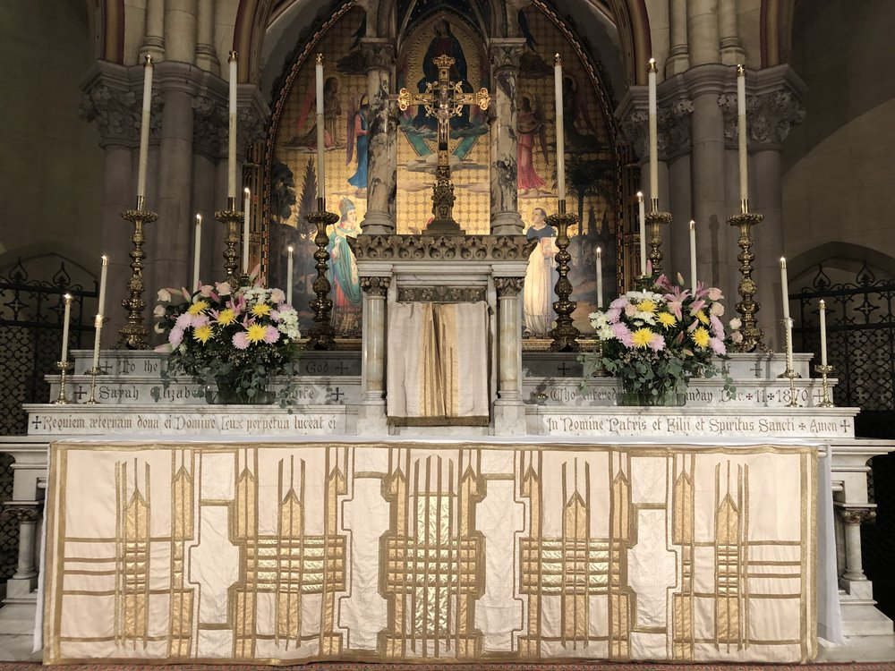 The High Altar, The Last Sunday after Pentecost: Christ the King, November 25, 2018  Photo by Br. Damien Joseph SSF