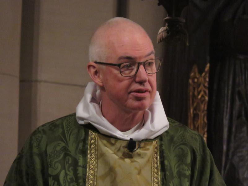 The Rector was celebrant and preacher at the Solemn Mass on Sunday, February 10, 2019.  Photo by Damien Joseph SSF