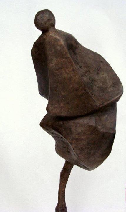 Staand figuur - detail - 2012 - brons