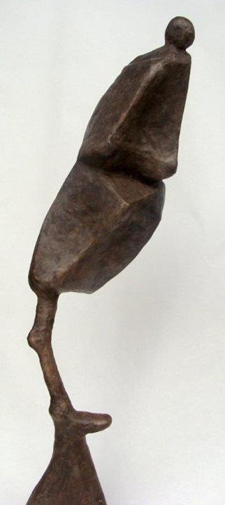 Staand figuur - detail - 2012 -brons