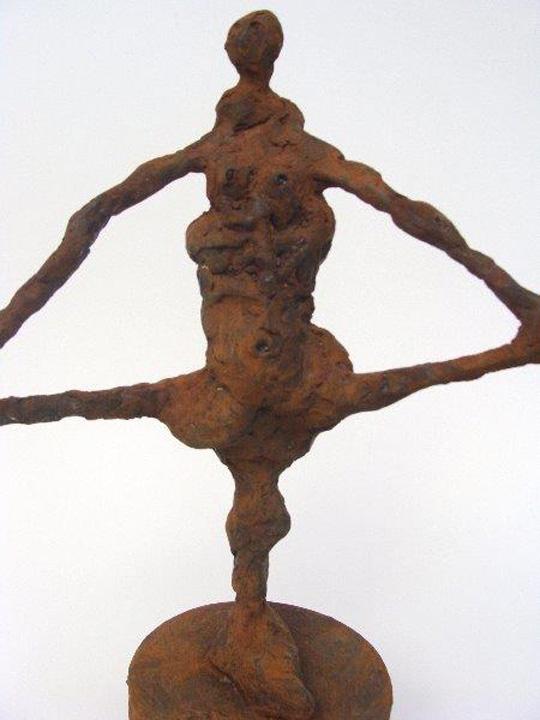 Akrobaat - 2011 - detail- brons