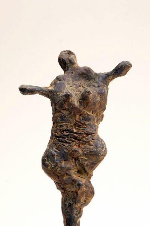 Kleine Hermafrodiet 1  - detail - brons - 2011