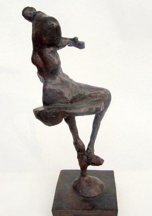 Zittend figuur - 2011 - brons