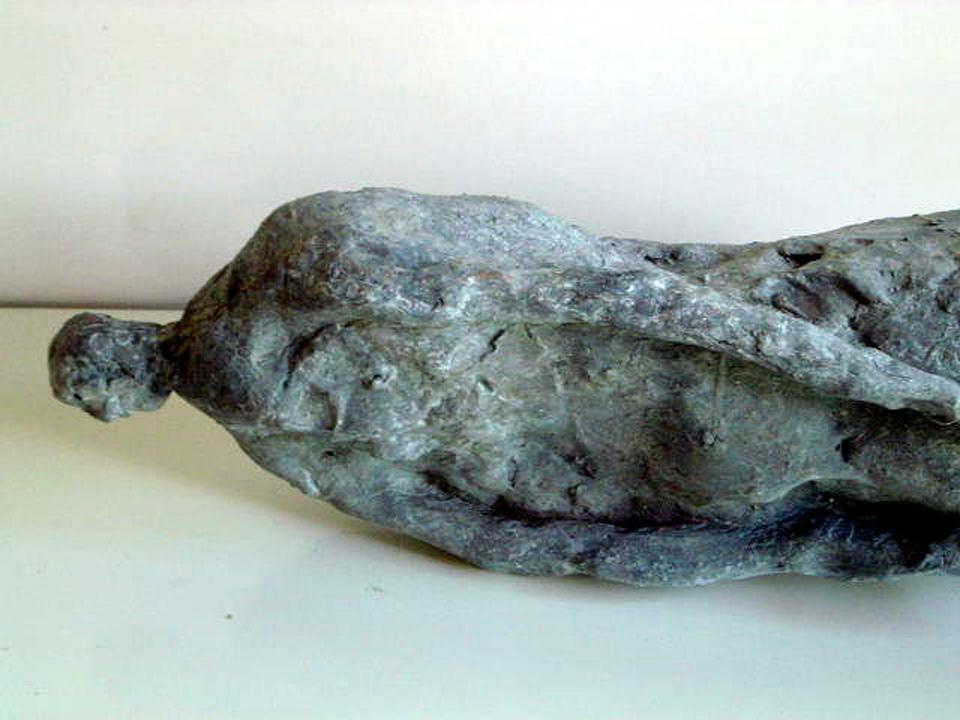 Gisant - 2005 -detail - brons
