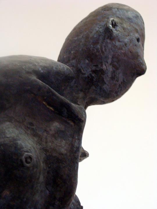 Pelgrim 4 -2008 - detail - brons